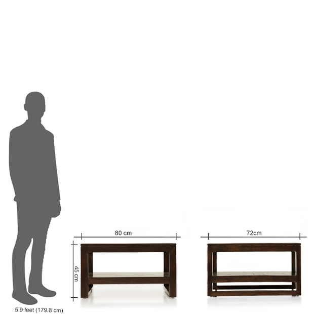 barcelona coffee table - thearmchair