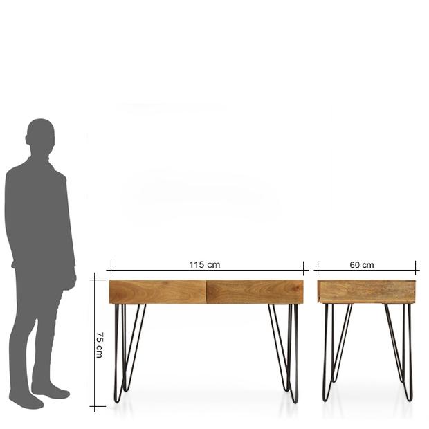 Oslo study table frtbdk11nt10002 m 9 2x