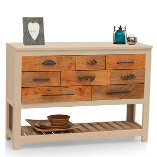 Crescent Chest Of Drawers