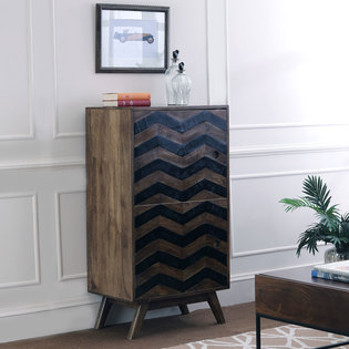 Herringbone Cabinet (Tall)