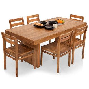 Jordan-Barcelona 6 Seater Dining Table Set