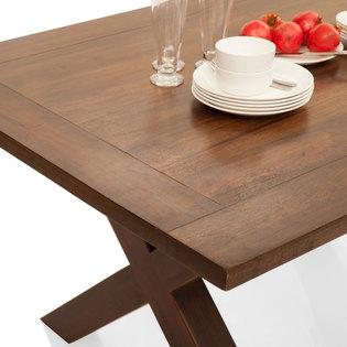 Clovis capra 6 seater dining table set frtbdt11wn10015 4 hover