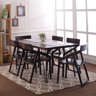 Oslo-Dulwich 6 Seater Dining Table Set