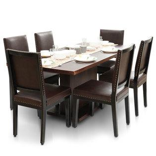 Bocado-Caprica 6 Seater Dining Table Set