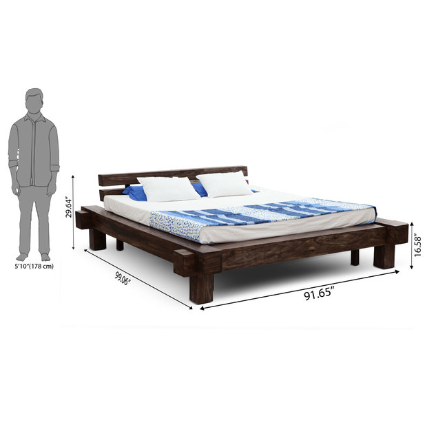 Algeria bed withour storage frbdns12mh10003 d