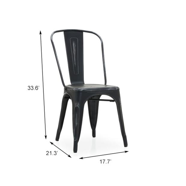 Tolix metal chair frfrfr12fr10107 06