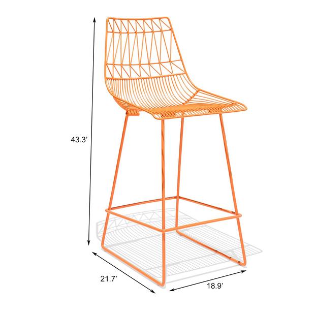 Fresco metal bar chair frfrfr12fr10134 04