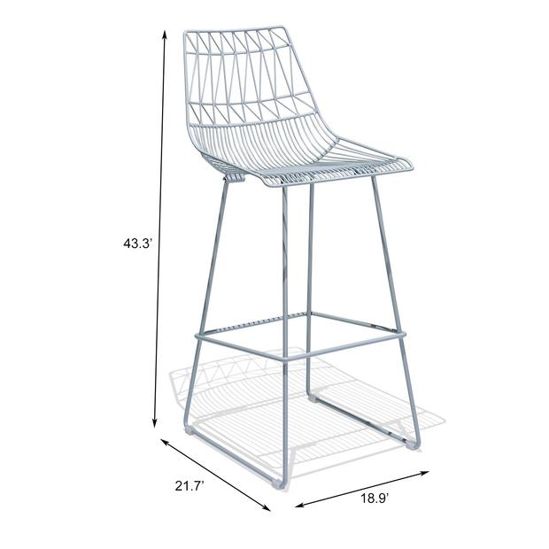 Fresco metal bar chair frfrfr12fr10137 04