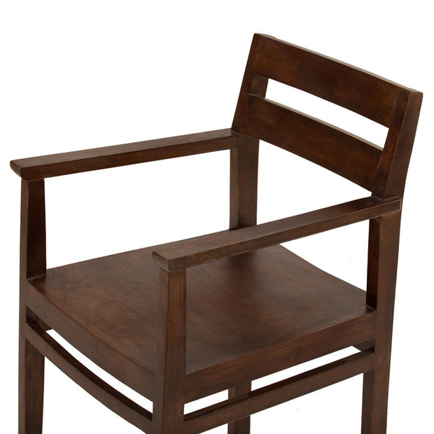 Barcelona Dining Chair With Arm Rest Thearmchair