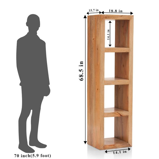 Cube 4 book shelve frstbs11nt10013 2