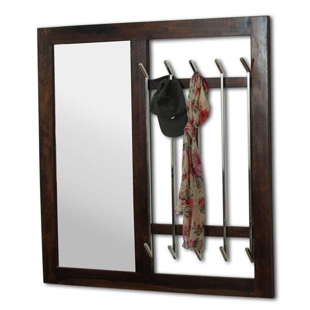 Ancona Coat Hanger With Mirror Thearmchair