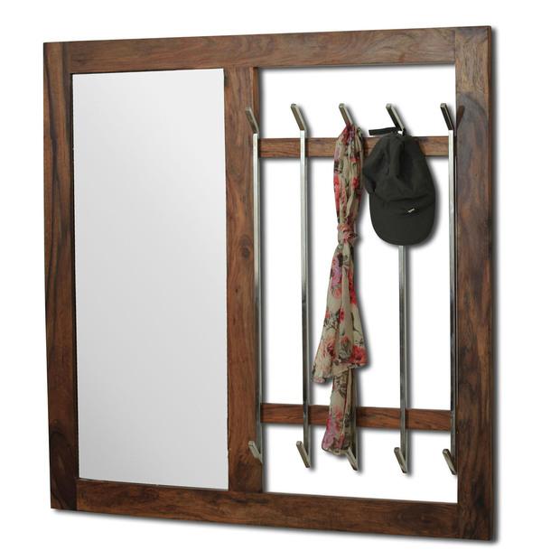 Ancona Coat Hanger With Mirror