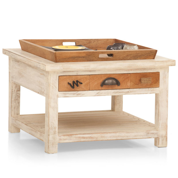 Crescent Single Tray Coffee Table