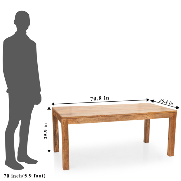 Gresham capra 6 seater dining table set frtbdt11nw10026 5 dimension
