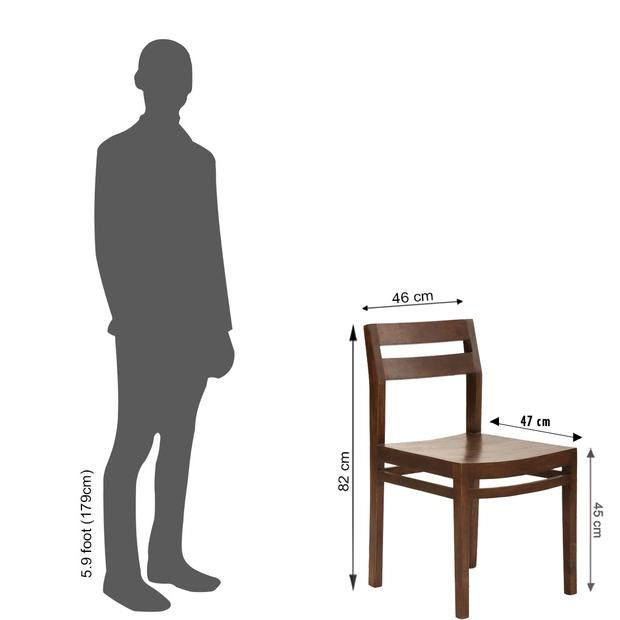 Clovis barcelona 6 seater dining table set with armchair frtbdt11wn10017 10 dimension