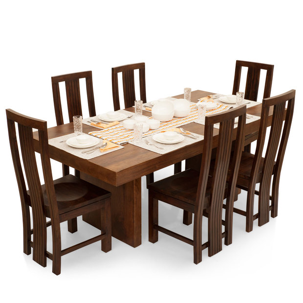 Jordan Capra 6 Seater Dining Table Set Walnut Frtbdt11wn10027 1