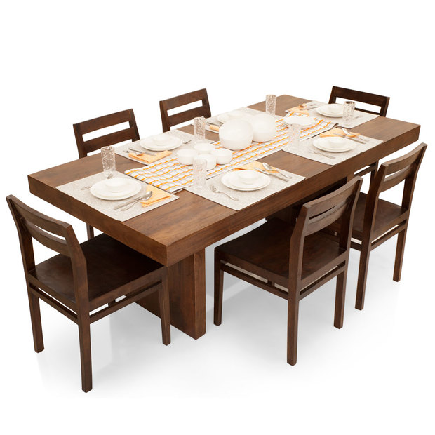 Jordan Barcelona 6 Seater Dining Table Set Frtbdt11wn10028 1