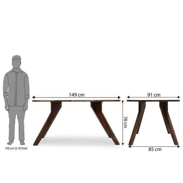 Sorano dining table frtbdt12mh10037 d