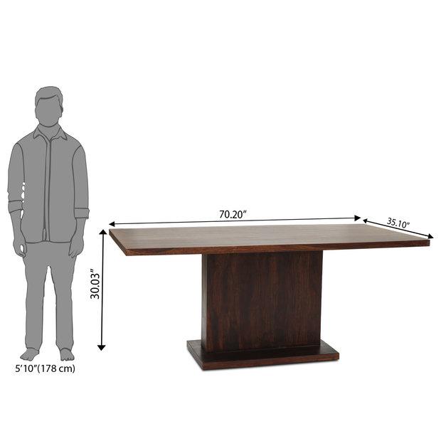 Bocado caprica 6 seater dining table set frtbdt12mh10089 d