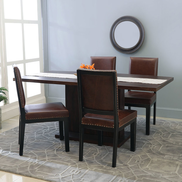 Bocado-Caprica 4 Seater Dining Table Set