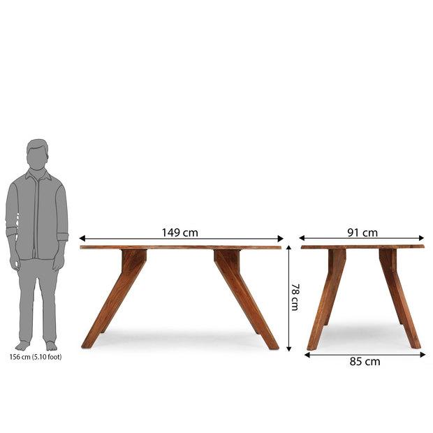 Sorano dining table frtbdt12wn10037 d