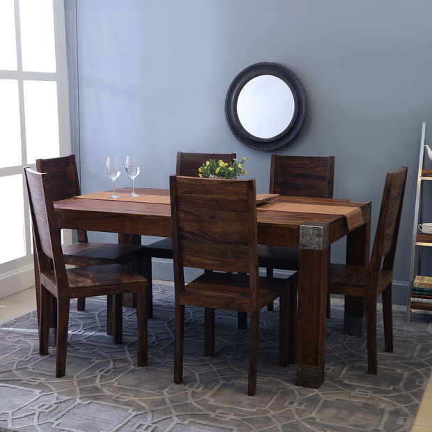 Siena-Zagreb Dining Set With 6 Chairs