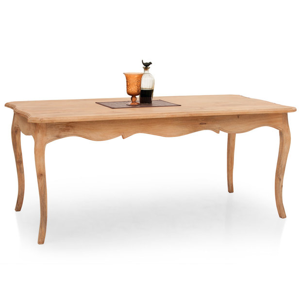 Dinan Dining Table Natural Thearmchair