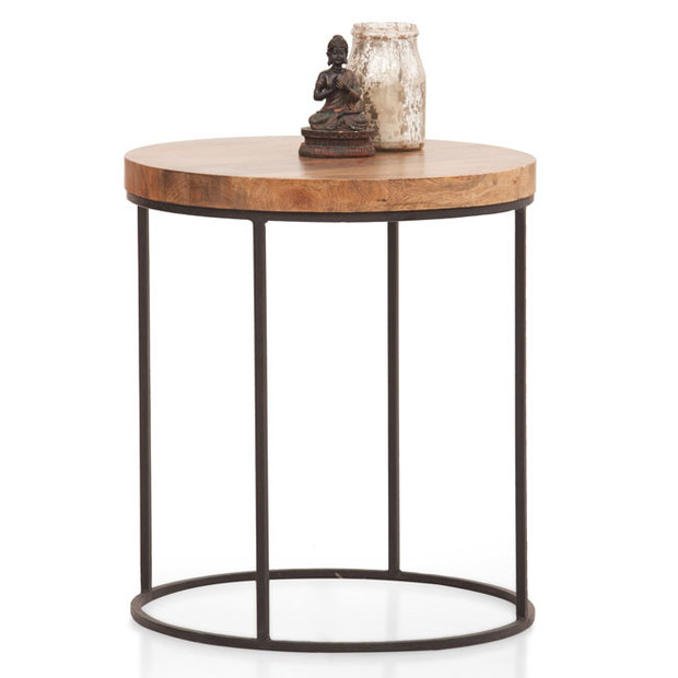 Fargo Side Table (Metal Legs)
