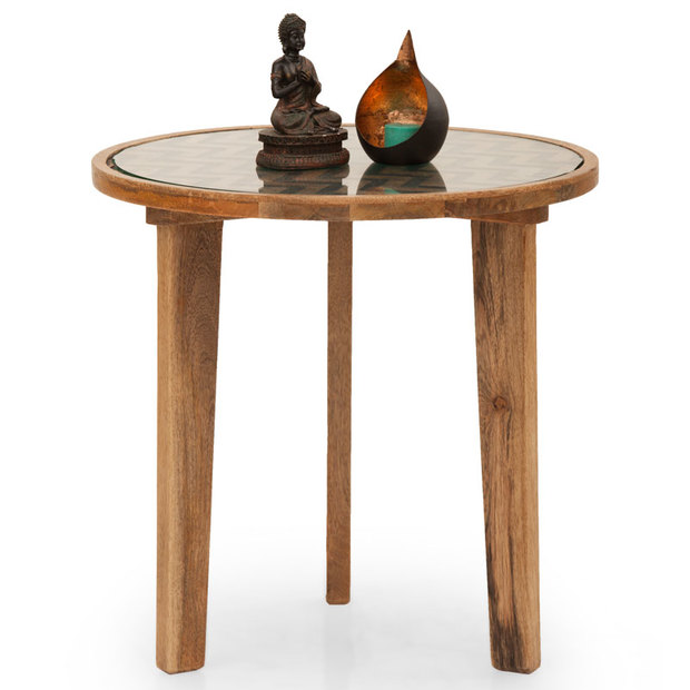 Miramar Round Side Table