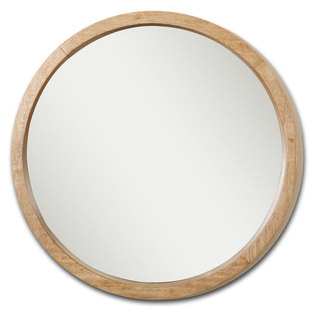 Macon Wooden Mirror