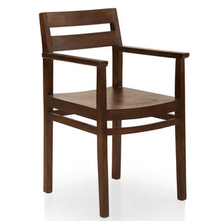 Barcelona dining chair with arm rest untitled 624
