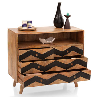 Herringbone Chest Of Drawers