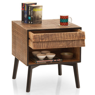 Peoria Open Shelf Side Table