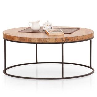 Fargo Round Coffee Table (Metal Legs)