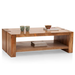 Troy Shelf Coffee Table
