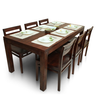 Gresham-Barcelona 6 Seater Dining Table Set