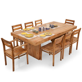Jordan-Barcelona 8 Seater Dining Table Set