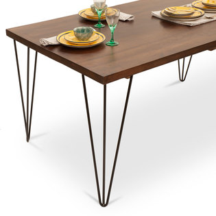 Oslo dulwich 6 seater dining table set frtbdt11wn10018 3 hover