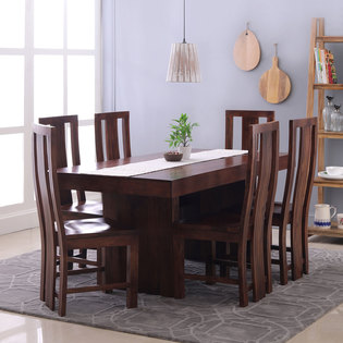 Jordan-Capra 6 Seater Dining Table Set