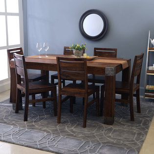 Siena-Sorano Dining Set With 6 Chairs